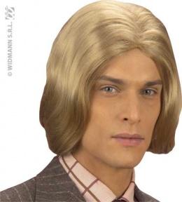 Perruque blonde homme cheveux long à 15.2